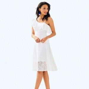 NWT Lilly Pulitzer Callisto White Dress 16